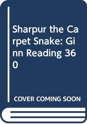 9780602273798: Sharpur the Carpet Snake: Ginn Reading 360