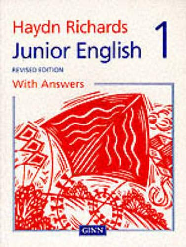 9780602275099: Haydn Richards : Junior English Pupil Book 1 With Answers -1997 Edition: With Answers Bk. 1