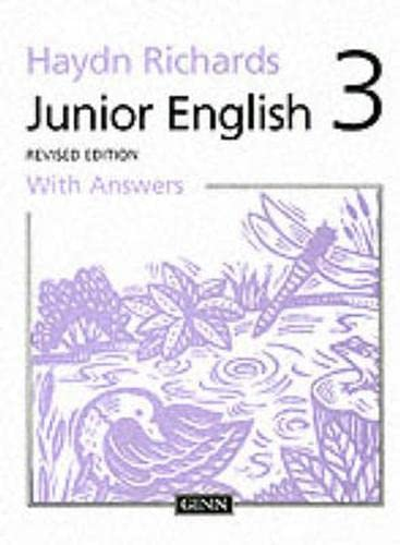 9780602275136: Haydn Richards : Junior English :Pupil Book 3 With Answers -1997 Edition (Bk. 3)