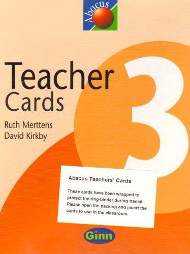 9780602290627: New Abacus: Teacher Cards Year 3