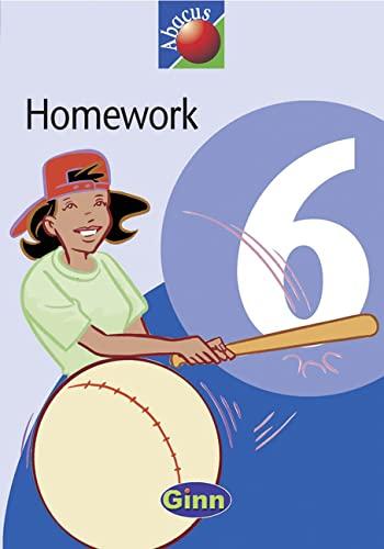 9780602291181: Abacus Year 6/P7: Homework Book: Homework Book Year 6 (New Abacus (1999))