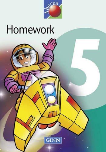 9780602291778: 1999 Abacus Year 5 / P6: Homework Book (8 pack) (NEW ABACUS (1999))