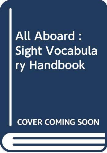 9780602293970: All Aboard : Sight Vocabulary Handbook: Sight Words Handbook Key Stage 1