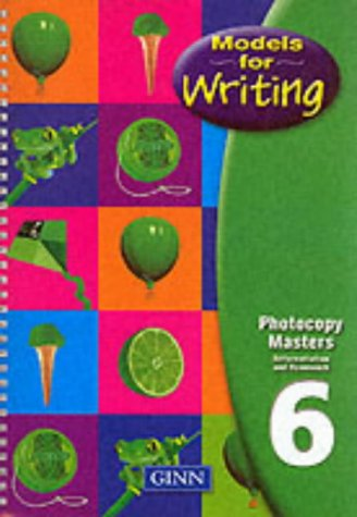 9780602296957: Models for Writing Year 6: Photocopy Masters (Models for Writing)