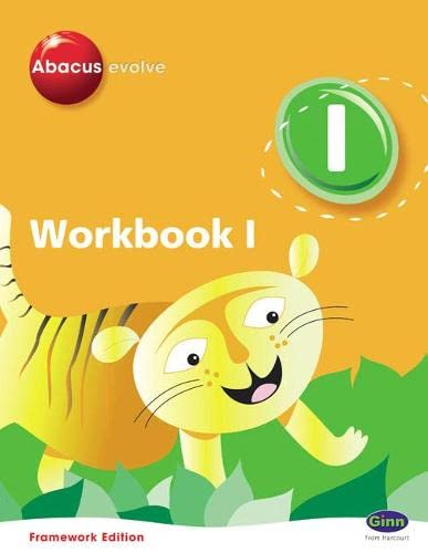 9780602574987: Abacus Evolve Year 1/P2 Workbook 1, 8-Pack Framework Edition