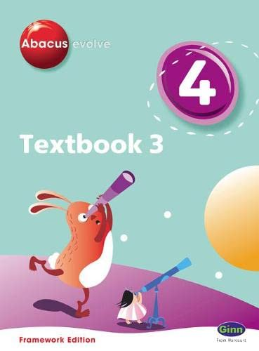 9780602575748: Abacus Evolve Year 4/P5 Textbook 3 Framework Edition (Abacus Evolve Fwk (2007)) (No. 3)
