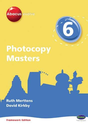 Photocopy Masters: Year 6 Part 7 (Abacus Evolve Fwk (2007)) (0602575842) by Ruth Merttens; Dave Kirkby