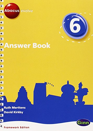 9780602575854: Answer Book: Year 6 Part 7 (Abacus Evolve Fwk (2007))