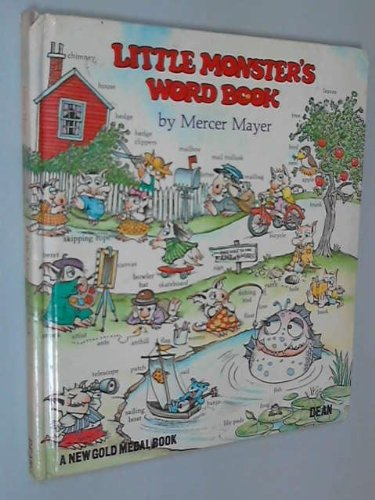 9780603002007: Little Monster's Word Book