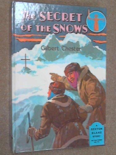 9780603035012: sexton blake: the secret of the snows