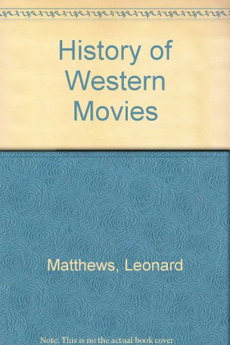 9780603036279: History of Western Movies