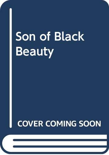 9780603062636: Son of Black Beauty