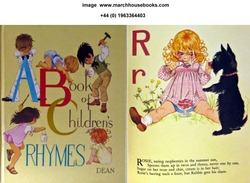 Book of Children's Rhymes: Grahame-Johnstone, Janet