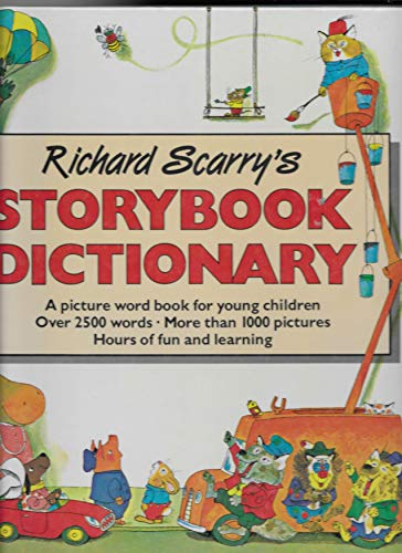 9780603550355: Scarry Storybook Dictionary