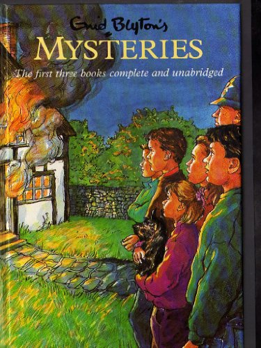 "Mysteries: """"Mystery of the Burnt Cottage"""", """"Mystery of the Disappearing Cat"""", """"Mystery of the Secret"