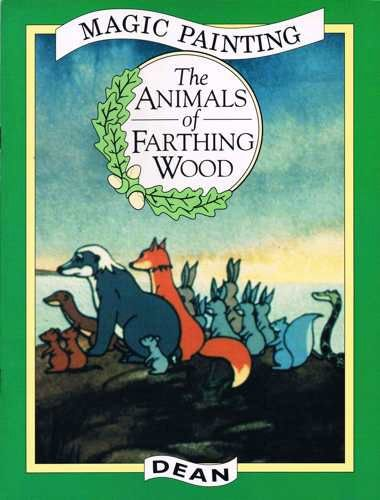 9780603553240: Animals of Farthing Wood Magic Painting