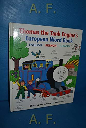 Thomas the Tank Engine European Word Book: Awdry, Christopher