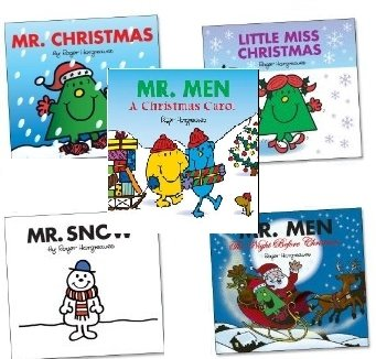 9780603564017: MR MEN CHRISTMAS BOX SET [Paperback] by ROGER HARGREAVES