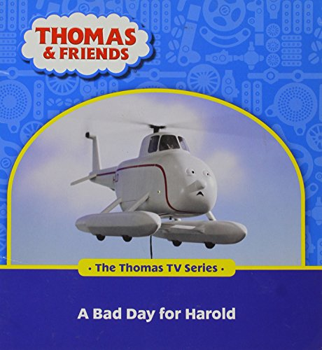 9780603564567: THOMAS & FRIENDS - A BAD DAY FOR HAROLD READING BOOK BY EGMONT