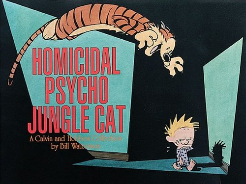 9780606000994: Homicidal Psycho Jungle Cat (Turtleback School & Library Binding Edition) (Calvin and Hobbes)