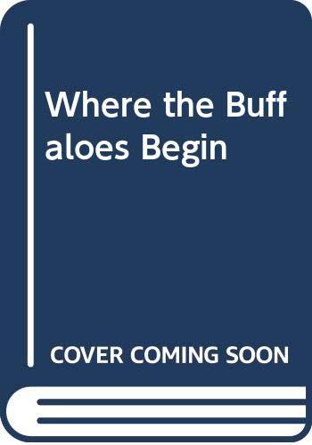 9780606005425: Where the Buffaloes Begin