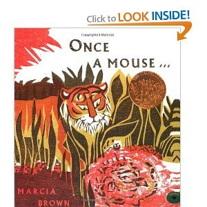 9780606005463: Once a Mouse...: A Fable Cut in Wood