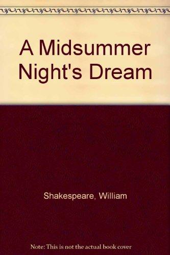 A Midsummer Night's Dream (0606010785) by Mowat, Barbara A.