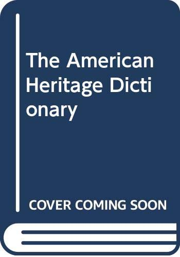 9780606013079: The American Heritage Dictionary