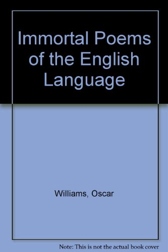 9780606015233: Immortal Poems of the English Language