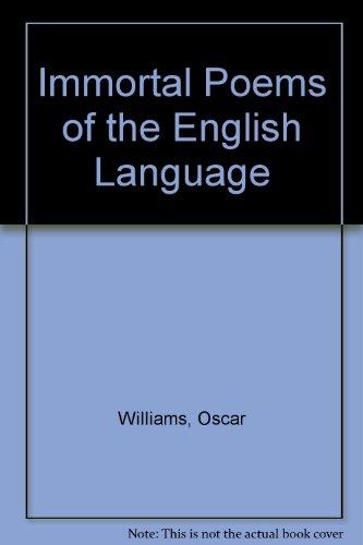 9780606015233: Immortal Poems of the English Language