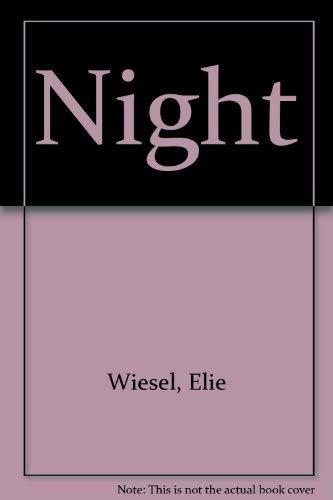 9780606016926: Night