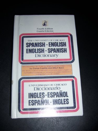 9780606020299: University of Chicago Spanish Dictionary/Spanish-English English-Spanish