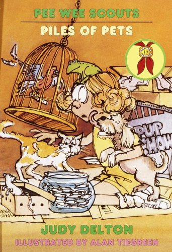 Piles Of Pets (Turtleback School & Library Binding Edition) (Pee Wee Scouts): Judy Delton