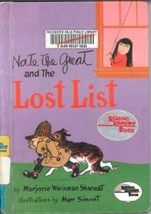 9780606022040: Nate the Great and the Lost List