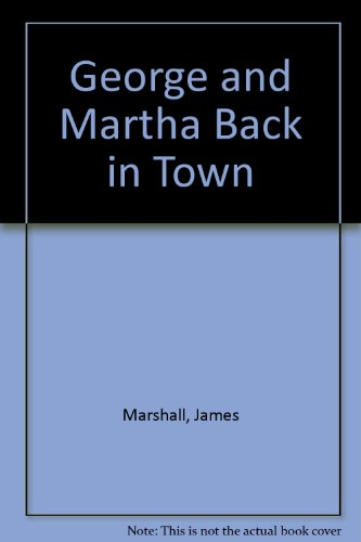 9780606028004: George and Martha Back in Town