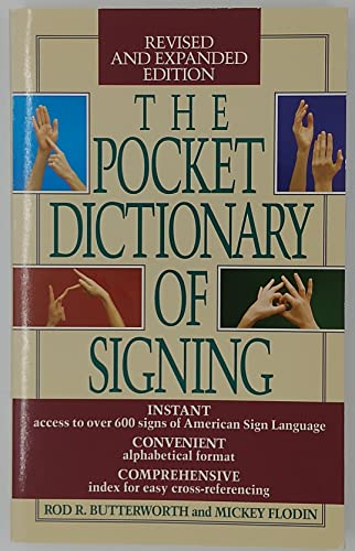 9780606028448: The Pocket Dictionary of Signing