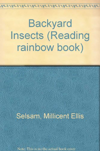 9780606030410: Backyard Insects (Reading rainbow book)