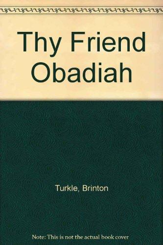 9780606034890: Thy Friend Obadiah