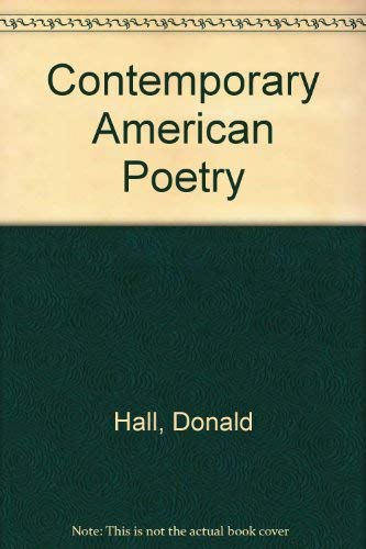 9780606037617: Contemporary American Poetry