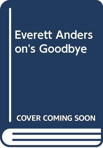9780606037792: Everett Anderson's Goodbye
