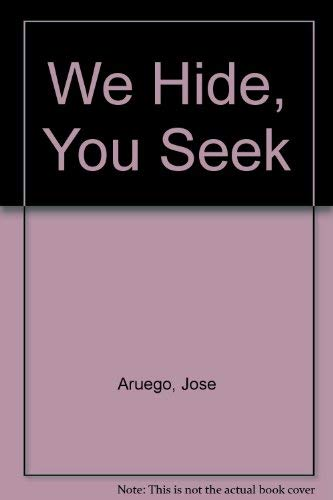 9780606039512: We Hide, You Seek