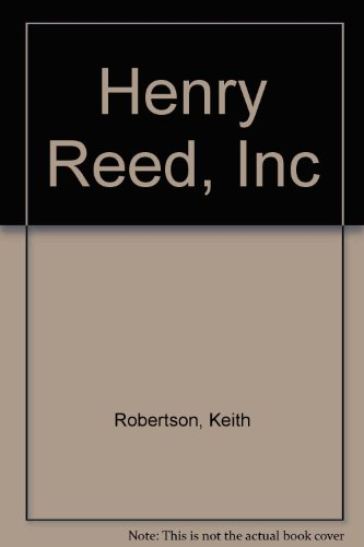 9780606042444: Henry Reed, Inc.