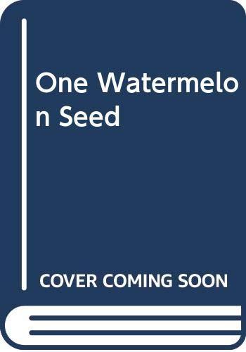 9780606047654: One Watermelon Seed