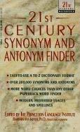 9780606050975: 21st Century Synonym and Antonym Finder (21st century reference)