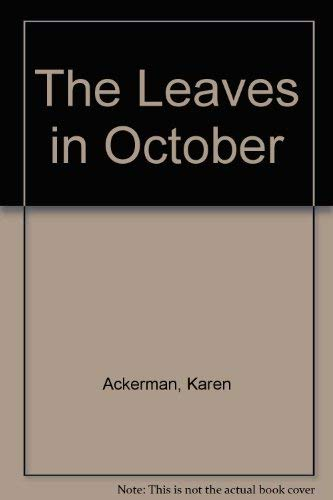 9780606054201: The Leaves in October