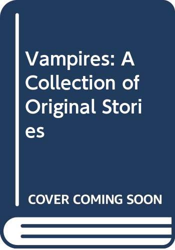9780606056823: Vampires: A Collection of Original Stories (Trophy Chiller)