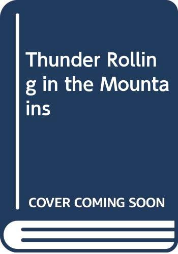 9780606060585: Thunder Rolling in the Mountains