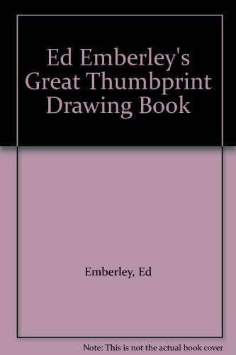 9780606063500: Ed Emberley's Great Thumbprint Drawing Book