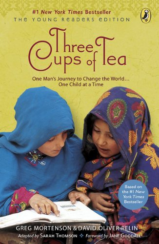 9780606071642: Three Cups Of Tea (Young Readers Edition) (Turtleback School & Library Binding Edition)