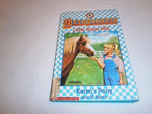 Karen's Pony (Baby-Sitters Little Sister) (0606072470) by Martin, Ann M.